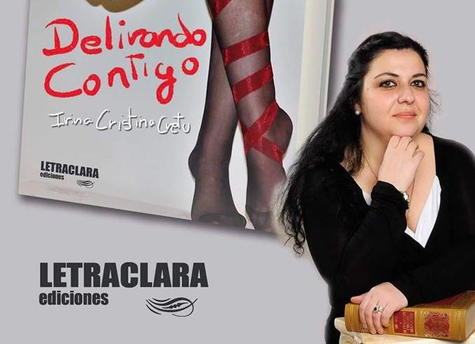 Invitație: Lansare de carte Delirando Contigo, la Biblioteca Municipală din Móstoles, pe 24 mai 2018