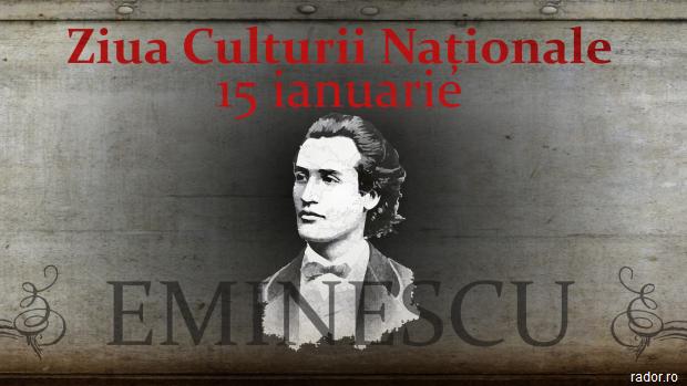 Iohannis: Ne mândrim cu geniul lui Eminescu