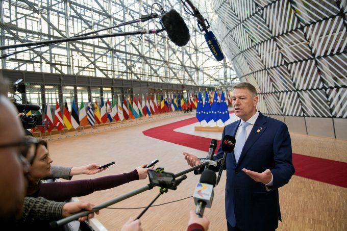 Iohannis: Preşedinţii Consiliului European şi Comisiei Europene au fost deschişi propunerilor României privind bugetul multianual al UE
