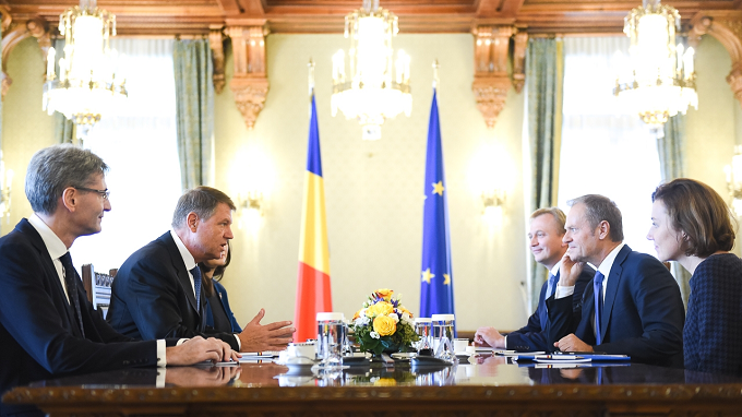 Iohannis: România nu acceptă propuneri care conduc la o Europă cu mai multe viteze