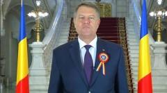 VIDEO Iohannis: Ziua Națională să ne fie permanent o sursă de inspirație pentru o țară prosperă, demnă și unită