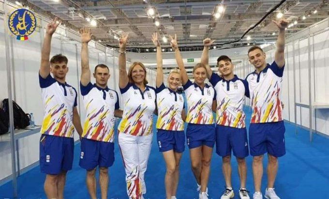Jocurile Europene 2019: România, medaliată cu bronz la gimnastică aerobică, în proba de grup
