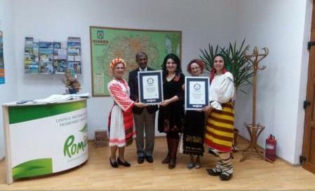 Județul Bistrița-Năsăud - oficial în Cartea Recordurilor, prin portul popular și dansurile tradiționale