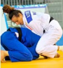 Judoka Andreea Chițu aduce a doua medalie de aur României