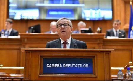 Juncker, în Parlament: România trebuie să devină membru Schengen cât mai curând, deoarece e un loc meritat