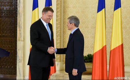 Klaus Iohannis: Îl desemnez premier pe Dacian Cioloș