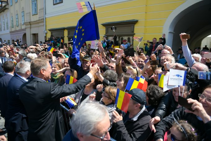 VIDEO - Klaus Iohannis: La aceste alegeri europarlamentare se va decide realmente viitorul Europei