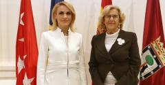 La alcaldesa de Madrid, Manuela Carmena viajará a Bucarest (Rumanía) y a la ciudad de Tandarei