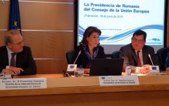 VIDEO: Lansarea la Madrid a Președinției României la Consiliul UE