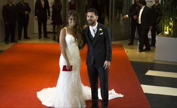 "Lionel Messi și Antonella Roccuzzo au spus ""Da"" la Rosario"