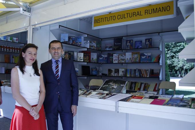 Literatura rumana en la Feria del Libro de Madrid