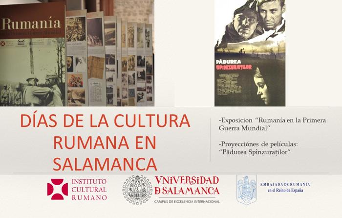Los Días de la Cultura Rumana en Salamanca, hasta el 18 de mayo de 2018