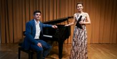 """Los famosos rumanos Andreea Chira y Adrian Gaspar presentan el concierto """"Classic Meets Jazz Meets Folk"""""""