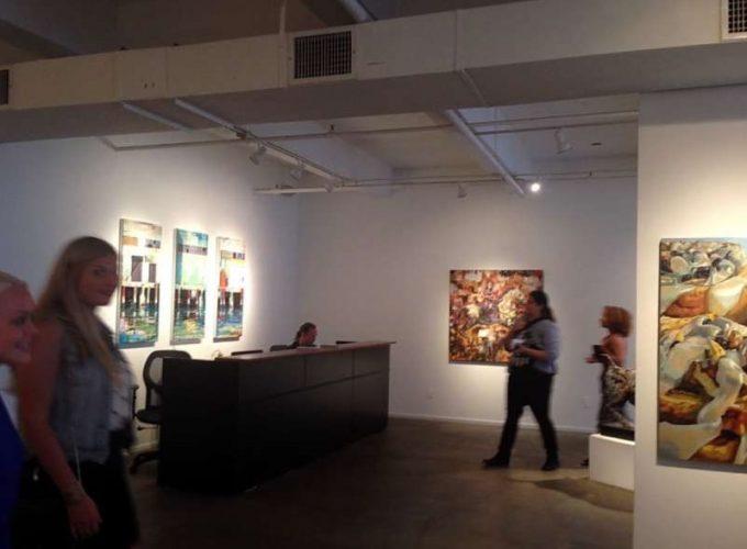 Lucrare a unui artist plastic sucevean, expusă la New York în cadrul expoziţiei internaţionale The ArtBox
