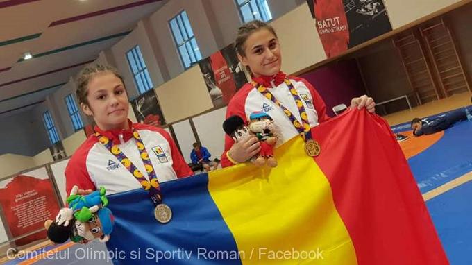 Luptătoarele Georgiana Antuca şi Ana-Maria Pîrvu au adus României primele medalii la Baku