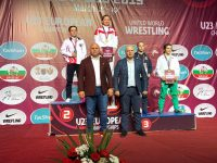 Lupte: Andreea Beatrice Ana, medaliată cu bronz la Europenele Under-23 din Serbia