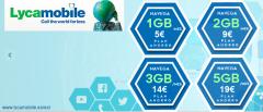 Lycamobile baja los precios de sus tarifas de datos, 3 GB cuestan ahora solo 14 euros y 5 GB 19 euros