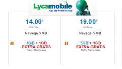 Lycamobile rebaja los precios en sus tarifas de datos: 4 GB por 14 € y 6 GB por 19 €