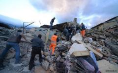 MAE confirmă decesul a 6 români din cei 268 de morți în cutremurul din Italia