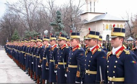 MApN: Marți - ceremonii cu ocazia Zilei Unirii Principatelor Române