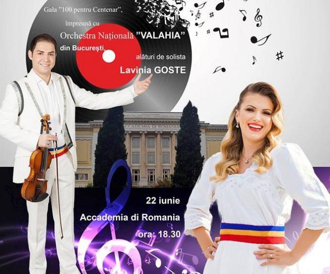 """MRP lansează Gala """"100 pentru Centenar"""" la Roma"""