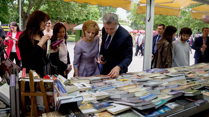 Majestatea Sa a vizitat Târgul de Carte Madrid 2018