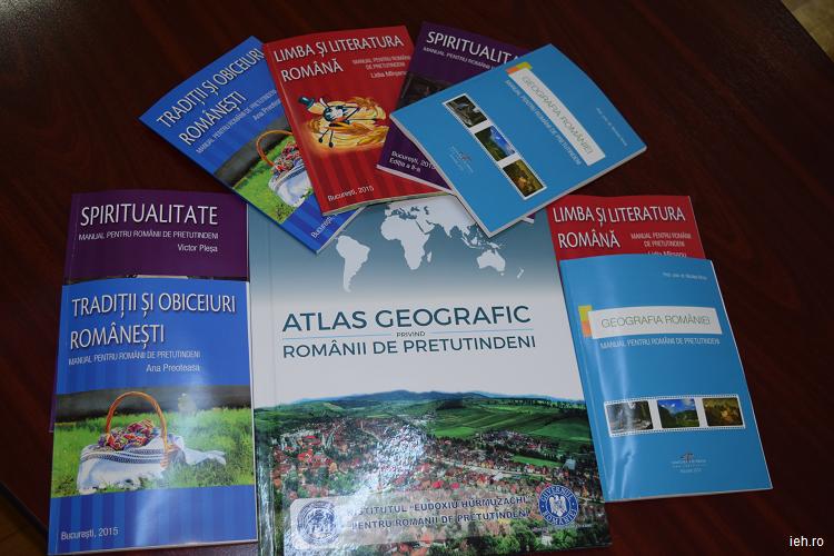 Manuale pentru comunităţile româneşti din Republica Moldova, Italia, Elveţia şi Australia