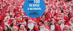 Marea MoşMondeală: Primul maraton cu Moşi Crăciun din Sibiu