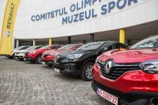 Medaliatii romani la JO de la Rio au primit cheile autoturismelor Renault
