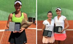 Melilla: Ioana Loredana Roşca a câştigat ambele titluri în turneul futures (tenis)