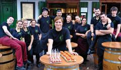 Micaela Pop, una rumana Jefe de Cocina del Gran Sol Hondarribia gana muchos premios en España y el mundo