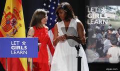 Michelle Obama, sobre la Reina: «Es un modelo y la considero mi amiga»