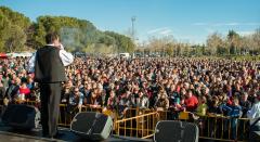 Mii de români au petrecut la un festival românesc dinSan Fernando de Henares, Madrid
