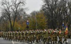 Militari din țări aliate sau partenere, aeronave, tehnică militară de luptă și armament – la parada de 1 Decembrie