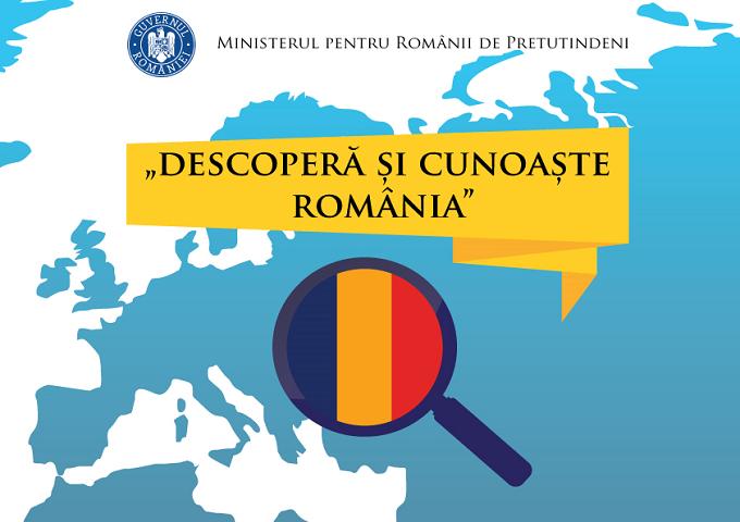"""Ministerul pentru Românii de Pretutindeni lansează oficial programul """"Descoperă și Cunoaște România"""""""