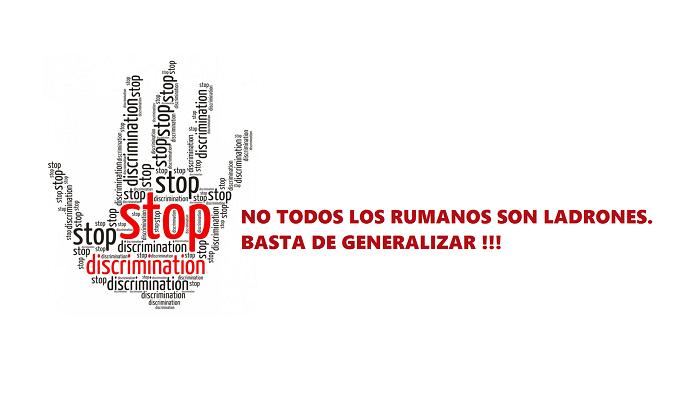 NO TODOS LOS RUMANOS SON LADRONES. ¡BASTA DE GENERALIZAR!