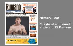 Numărul 190. Citește ultimul număr al ziarului El Rumano
