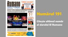 Numărul 191. Citește ultimul număr al ziarului El Rumano