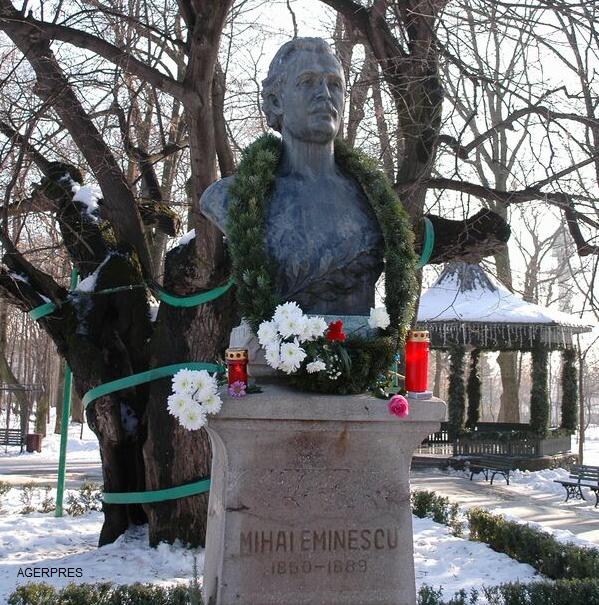 Omagierea Zilei lui Mihai Eminescu - Ziua Culturii Naționale - 167 de ani de la nașterea sa