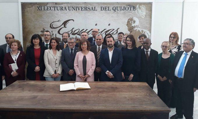 """Opera universală """"Don Quijote"""" s-a auzit citită și în limba română în Esquivias (provincia Toledo)"""