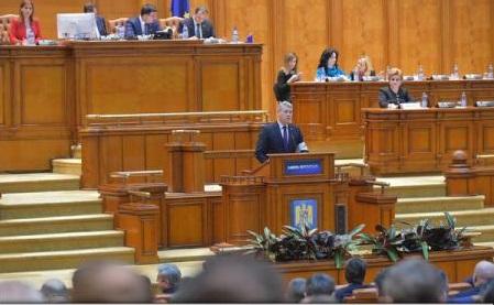 Parlament: Moțiunea de cenzură, citită în plen de Cătălin Predoiu