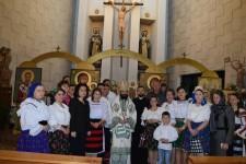Participare la Sfânta Liturghie oficiată în Ciudad Real de către Preasfințitul Părinte Episcop Timotei, al Episcopiei Ortodoxe Române a Spaniei și Portugaliei
