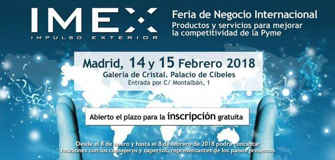 Participarea României la Târgul Internaţional de afaceri IMEX Madrid 2018