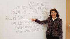 Participarea doamnei Gabriela Dancău, ambasadorul României în Regatul Spaniei, la evenimentul organizat de compania Renault (Valladolid, 5 martie 2018)