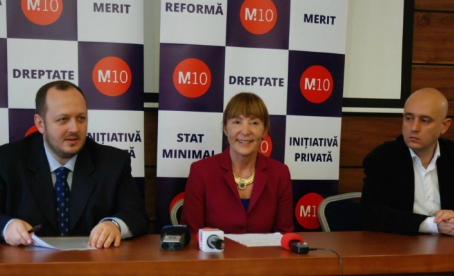 """Partidul M10 solicită demisia """"imediată"""" a premierului Ponta"""