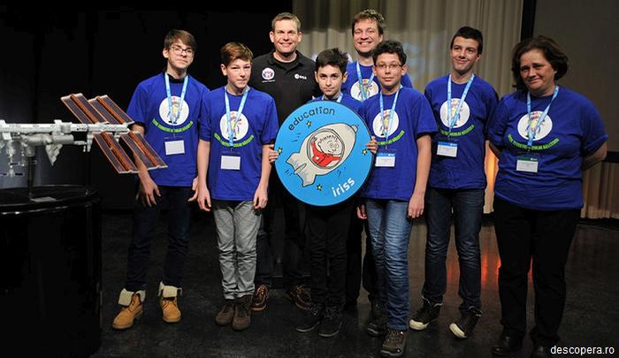Performanța unor elevi români le-a adus locul I la un concurs NASA