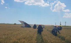 VIDEO: Pilotul avionului MiG prăbușit la Kogălniceanu a ajuns la Spitalul Militar din București