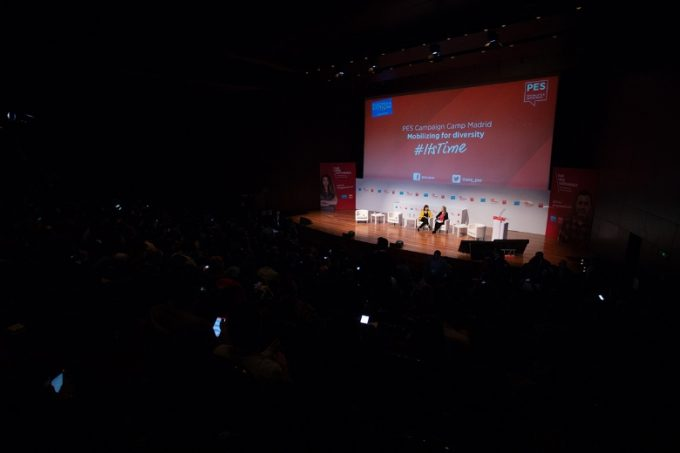 Politicieni români la Congresul Partidului Socialiştilor Europeni de la Madrid