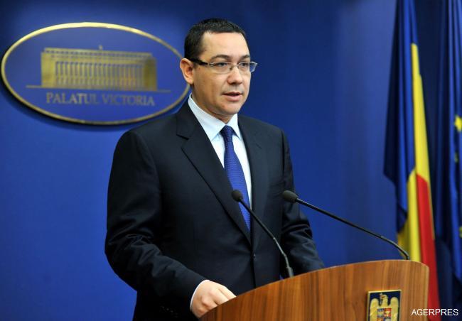 Ponta: Nu voi demisiona, voi fi prim-ministru atât timp cât coaliția mă susține