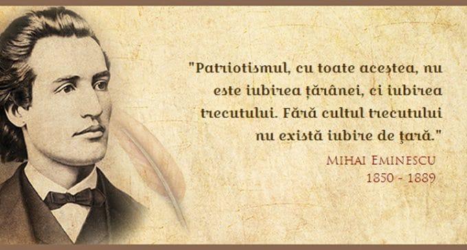 Preşedintele Academiei Române: Eminescu - valoarea absolută a culturii româneşti